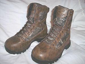 Danner Goretex Camo Hunting Boots 800 G Insulated Boots Waterproof Boots sz 8