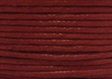 "WAX COTTON CORD Size 1.00 mm ""  RED "" 15 feet"