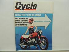 December 1966 CYCLE Magazine Honda BMW R69S Ducati Lambretta L10356