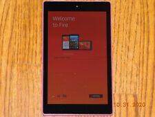 Amazon Kindle Fire HD8 (6th generation) 16GB Magenta