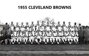 1955 CLEVELAND BROWNS  8X10 TEAM PHOTO FOOTBALL PICTURE NFL