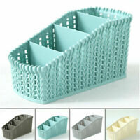 Home Storage Basket Plastic Box Bin Clothes Container Laundry Organizer Holder