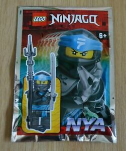 Lego® Ninjago™ Limited Edition Minifigur Nya mit Speer und Katana Neu & OVP 2020