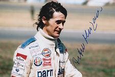 Arturo Merzario Firmato a Mano 12x8 photo formula 1 f1 2.