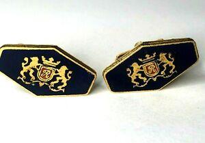 Vintage Rothmans Royals Cigarettes Enamel Cufflinks