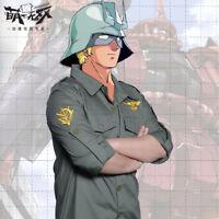Anime Gundam Unicorn Zeon Uniform Shirt Cosplay Long Sleeve Tops Harajuku#222