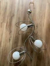 Mid Century Vintage Style Sputnik Atomic Chrome Ceiling Light Fixture