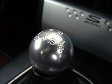 CHROME 6 speed round threaded screw on gear shift knob NISSAN JUKE NAVARA