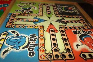 Vintage Wa-Hoo Wahoo Game Board w Box Mile High Game  Indian Native American