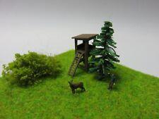 C-M-K Ready - Diorama Forester Deer / High Stand Figurine Z Gauge (1:220)