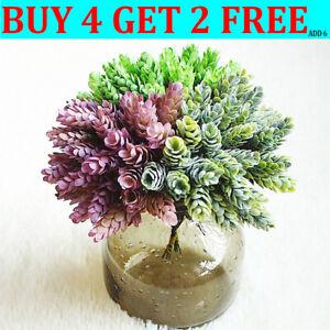 30 Heads  Artificial Fake Flowers Bouquet Home Office Garden Shop Hotel Decor L8