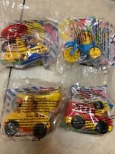 2001 Fisher Price McDonalds Happy Meal Under 3 Toy Fire Construction Helicopter