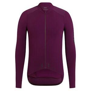 NEW Rapha Men's Cycling Jersey XL Pro Team Long Sleeve Aero RCC Plum Purple