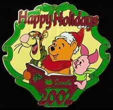 Disney Auctions Holiday Pooh Bear Tigger & Piglet LE 100 Pin