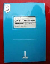 Okuma Lb45 Ii 1000/1000M Cnc Lathe Parts Book: Le15-104-R2 (Inv.12182)