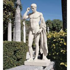 1st Century B.C. Greek Roman Statue Replica Germanicus Nude Male Sculpture