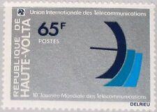 UPPER VOLTA OBERVOLTA 1978 715 471 10th World Telecommunication Day ITU MNH