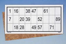 50 Stck. Bingo-Karten (90er System)