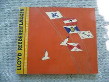 SAMMELALBUM LLOYD REEDEREIFLAGGEN DER WELTHANDELSFLOTTE BRINKMANN   1933