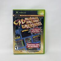 Midway Arcade Treasures (Xbox, 2003) NOT FOR RESALE Complete Tested Working