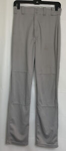 RAWLINGS Men's PRO DRI Gray BASEBALL PANTS ~ Size S