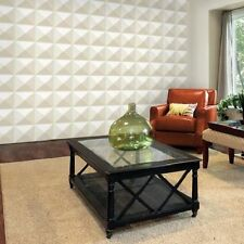 3D Wall Panel Cairo 12 Tiles 32sqft Paintable Home Decoration EcoFriendly