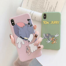 Cute Tom And Jerry Soft TPU Phone Case Cover For iPhone 11 Max X XR Xs 7 8 Plus