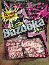New listing 100pk Original Bazooka Bubble Gum Bags . 4.0oz(114g)