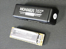 "Harmonica diatonique Hohner ""Blues"" 360° en Do - C sommier plexiglas Neuf  NEW"