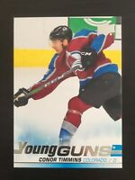 Conor Timmins 2019-20 UD Hockey Young Guns #203  Colorado Avalanche RC