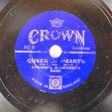 "78rpm 9"" ROSSINI`S ACCORDEON BAND queen of hearts , crown 247"