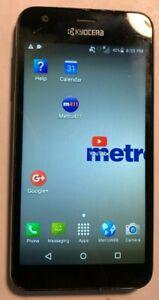 Kyocera Hydro C6740 - 8GB - Black (MetroPCS) Smartphone Very Good Used