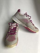 Wilson Rush NGX Womens Tennis Sneakers Shoes Grey & Pink US8 UK 6 EUR 39 2/3