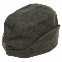 Swiss army surplus WW2  green/grey felt cap vintage