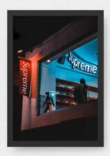 Supreme shop poster / Designer