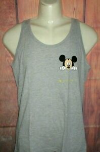 MENS NEFF DISNEY COLLECTION MICKEY MOUSE TANK TOP T-SHIRT SIZE S
