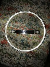New listing Cuisinart Glass Replacement Lid (6 3/8th Inches inside lip)