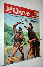 PILOTE EO 138 14/06 1962 PILOTORAMA ROME ANTIQUE ROMULUS REMUS TANGUY ASTERIX