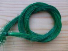 1 Hank of REAL Cheval Cheveux, vert, pour archet de violon ou autre utilisation, Royaume-Uni VENDEUR!!!