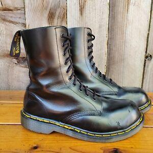 💥Dr. Martens Doc England MIE Rare 90's Vintage Black 1919 Boots UK7 US8💥