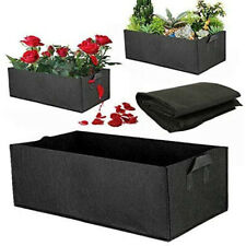 4x Tomato Planter Bags Felt Raised Garden Bed Flower Vegetable Planting Grow Bag