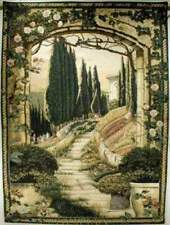 FRENCH GARDEN ARCH South of France ~Large Tapestry-FREE SHIPPING