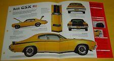 1970 Buick Skylark GSX grand Gran Sport 455 ci 360 hp IMP Info/Specs/photo 15x9