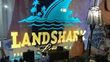 J555G Landshark Larger Beer For Pub Bar Display Light Sign