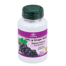 Nu-Health OPC Grape Seed Extract red wine bilberry extract (100 Tablets/ 100 MG)