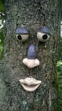 GARDEN TREE FACE NOVELTY GARDEN ORNAMENT DECORATION FUNNY FENCE SHED FACE TF101