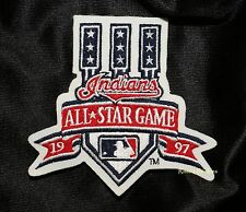 1997 ALL STAR GAME  MLB BASEBALL PATCH CLEVELAND INDIANS - JACOBS FIELD