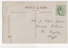Mr J Peters Junior Brereton Collieries Rugeley Staffordshire 1908 774a