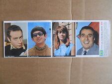 Inserto Figurine TV Sorrisi Canzoni Album 120 Assi della Canzone 1965 n°2 [D39]