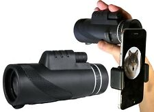RangeHAWK Compact 10x42 Monocular (10x zoom) with mini tripod and phone adapter